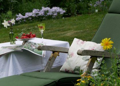 """Artikel über den Garten von Brigitte Niemala in der Zeitschrift """"Zuhause Wohnen"""""""