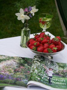 """Artikel über den Garten von Brigitte Niemela in der Zeitschrift """"Zuhause Wohnen"""""""