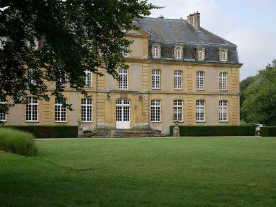 Château de Pange - Frontansicht des Schlosses