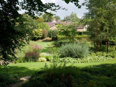 Les Jardins du Pays d'Auge - Panoramablick