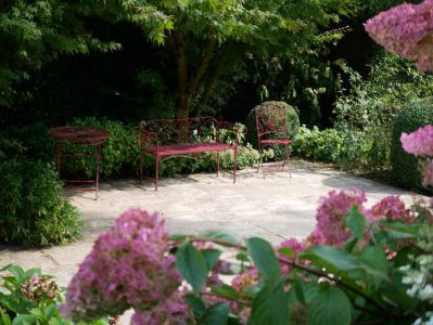 Les Jardins du Pays d'Auge - Terrasse